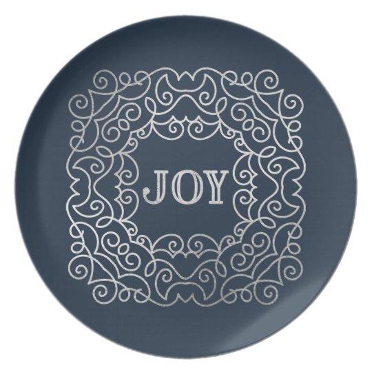 Modern Joy | Holiday Plate