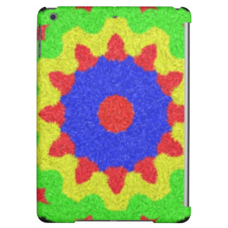 Modern kaleidoscope pattern iPad air cover
