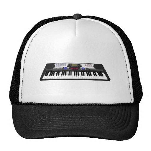 Modern Keyboard Synth: 3D Model: Trucker Hats