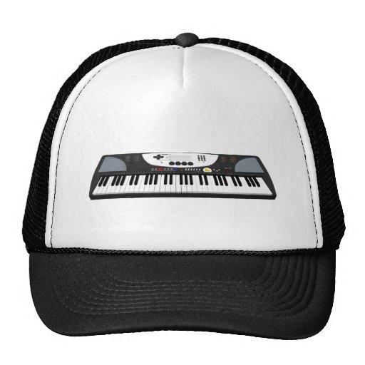 Modern Keyboard Synth: 3D Model: Hats