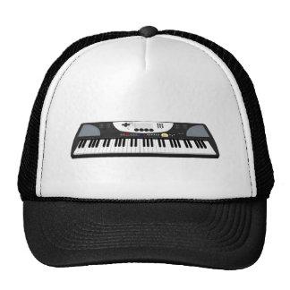 Modern Keyboard Synth 3D Model Hats