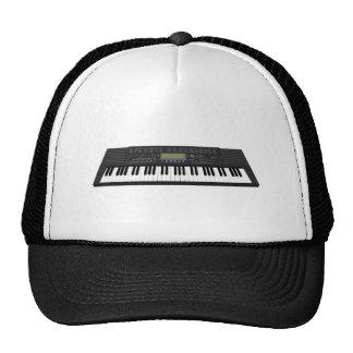 Modern Keyboard Synth 3D Model Trucker Hat