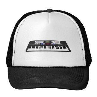 Modern Keyboard Synth 3D Model Trucker Hats