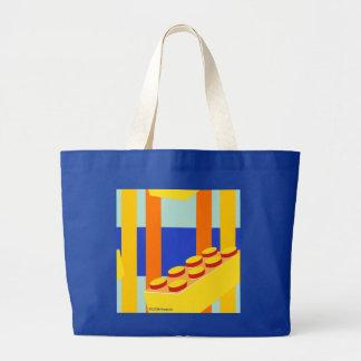 Modern kids' toy building block design Bag Tote