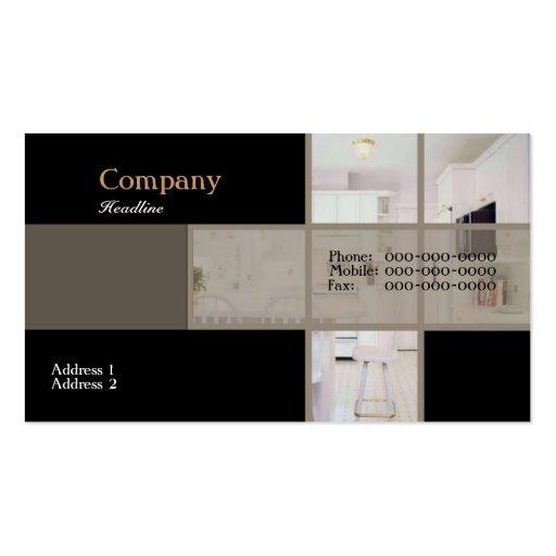 Modern Kitchen Business Card