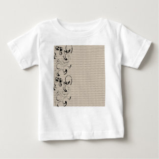 Modern Lace Abstract Baby T-Shirt