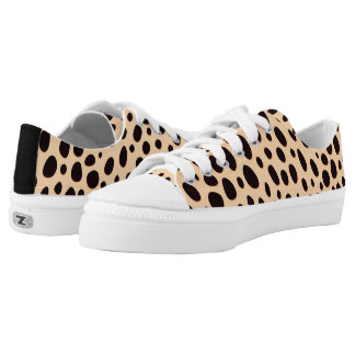 Modern Leopard Design Low Tops