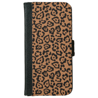 Modern Leopard Print iPhone 6 Wallet Case