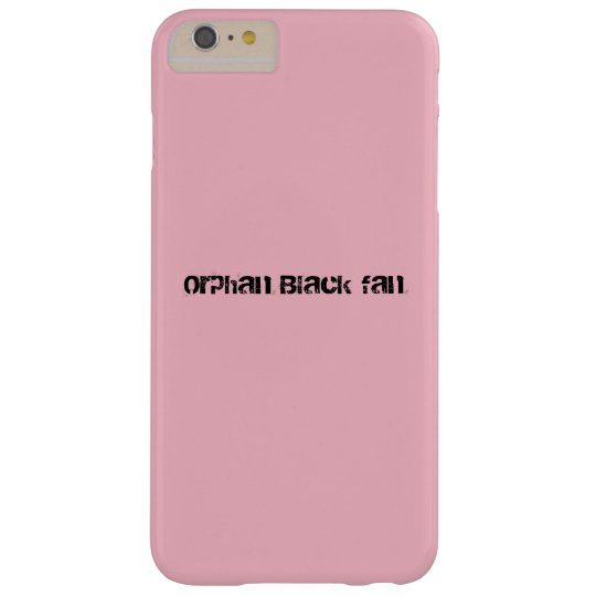 Modern lettering Orphan Black fan Barely There iPhone 6 Plus Case