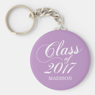 Modern Lilac | Graduation Key Ring