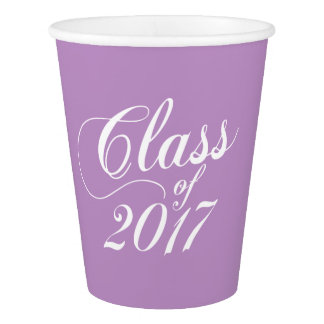 Modern Lilac | Graduation Paper Cup
