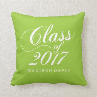 Modern Lime | Graduation Cushion