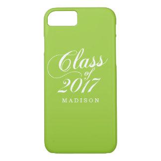 Modern Lime | Graduation iPhone 8/7 Case