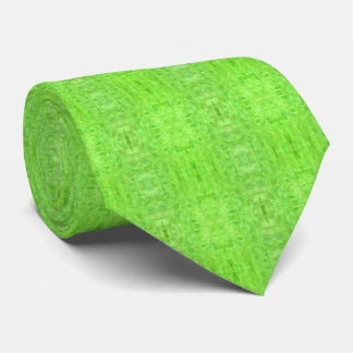 Modern Lime Green neck tie, elegant, abstract Tie