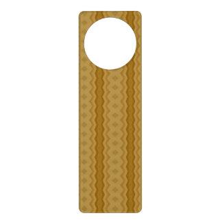 Modern line and diamond pattern door hanger