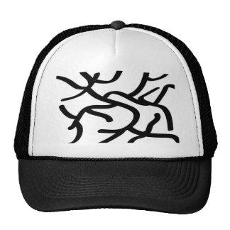 Modern Line Art Hat