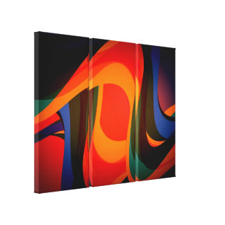 Modern liquid abstraction 2 canvas prints