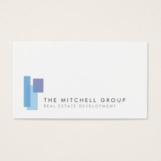 Modern Logo 2 for Real Estate, Builder, Architect Business Card