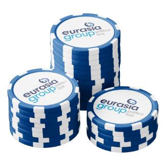 Modern Logo Poker Chip Set