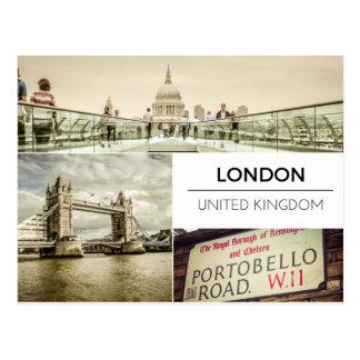 Modern London Postcard