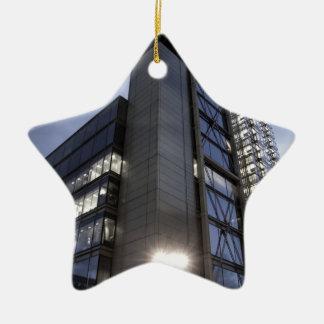 Modern London Skyscraper Christmas Ornament