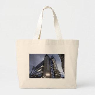 Modern London Skyscraper Large Tote Bag