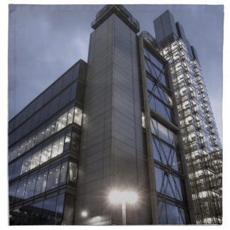 Modern London Skyscraper Napkin