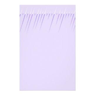 Modern Look Lavender Stationery