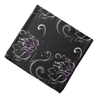 Modern Lotus Decor Bandana