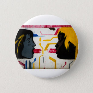 Modern Love - a special USB connection 6 Cm Round Badge