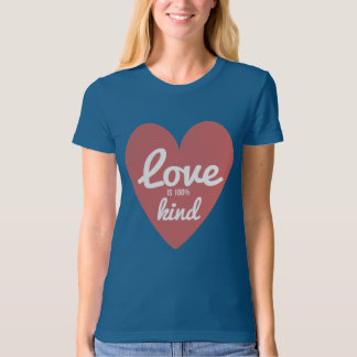 Modern Love is Kind Organic Fitted T-Shirt