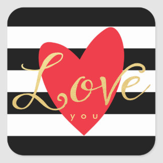 Modern Love You Stickers