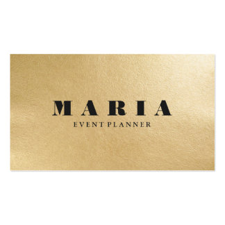 Modern luxury faux gold black texture professional pack of standard business cards