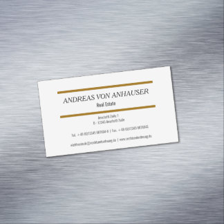 Modern Magnetic Cards Magnetic Business Cards