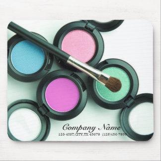 modern makeup artist business promotional mouse pad