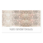 Modern Makeup Artist FAUX Sparkly Sequins Pack Of Standard Business Cards
