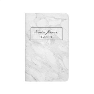 Modern marble journal