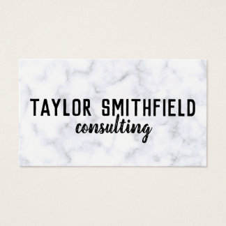 modern marble stone grunge trendy business card