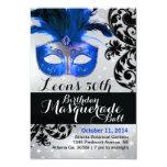 Modern Masquerade Ball Invitation 9 Cm X 13 Cm Invitation Card