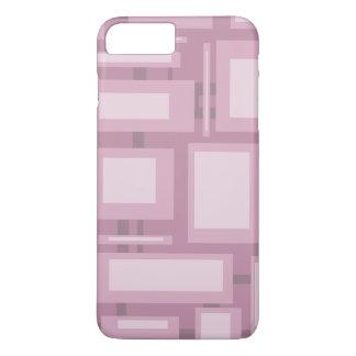 Modern Mauve Abstract iPhone 8 Plus/7 Plus Case