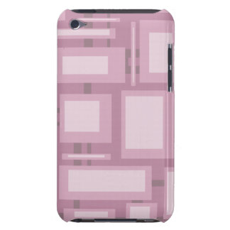 Modern Mauve Abstract iPod Touch Case