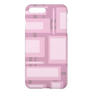 Modern Mauve Abstract Shapes iPhone 8 Plus/7 Plus Case