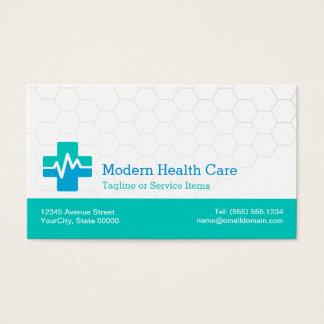 Modern Medical HealthCare - White Green Blue