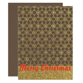 Modern Merry Christmas card