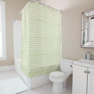 Modern Mesh Shower Curtain