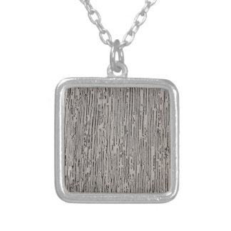 Modern metal static style design in silver grey. custom jewelry