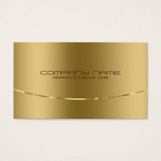 Metal business cards business card printing zazzle uk modern metallic gold design stainless steel look business card reheart Image collections
