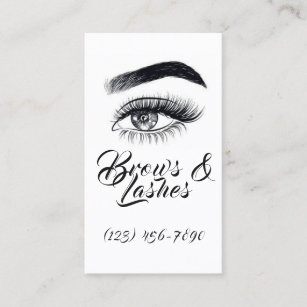 Jasmine name business cards business card printing zazzle uk modern microblading eyebrows permanent makeup business card reheart Choice Image