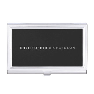 MODERN & MINIMAL Business Card Holder