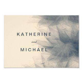 Modern Minimalist FloralWedding Response Cards 9 Cm X 13 Cm Invitation Card